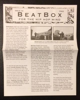 BeatBox: for the hip hop mind. Issue 4
