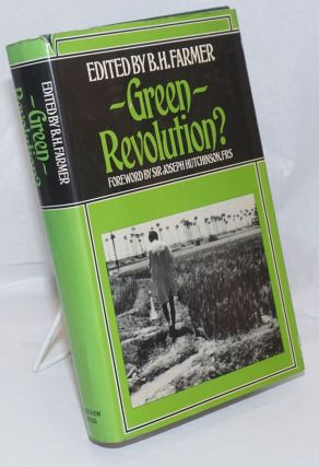 Green Revolution? Technology and Change in Rice-growing Areas of Tamil Nadu and Sri Lanka....