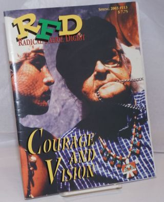 RFD: Radical faerie Digest; #113 Spring, 2003, vol. 27, #4; Courage & Vision [Harry Hay death]....