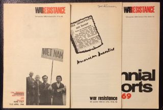 War resistance [three issues