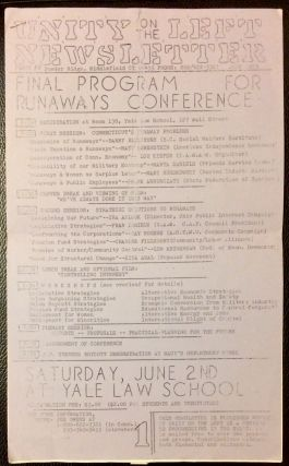 Unity on the Left Newsletter. Issue 8 (June 1979