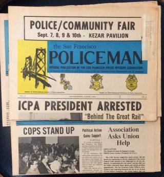 The San Francisco Policeman [four issues