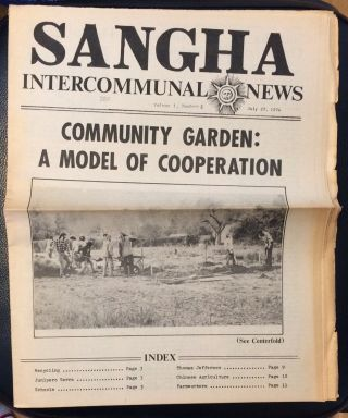 Sangha Intercommunal News. Vol. 1 no. 2 (July 27, 1974