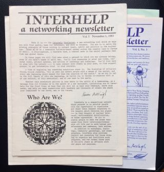 Interhelp: a networking newsletter [21 issues