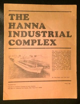 The Hanna industrial complex. Edie Black, Fred Goff