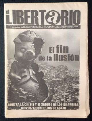 El Libertario. No. 56 (May-June 2009
