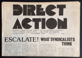 Direct Action: Monthly paper of the Direct Action Movement / International Workers Association......