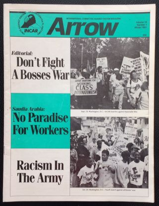 Arrow. Vol. 14 no. 1 (Winter 1991). International Committee Against Racism