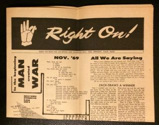 Right on! (Nov. 1969
