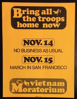 Bring all the troops home now! [poster