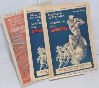 Biblioteca Letteraria & Scientifica Dell' Urodonal [3 issues