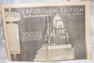 Exposition Edition, San Francisco Chronicle; page one, section two, Friday, February 17, 1939....