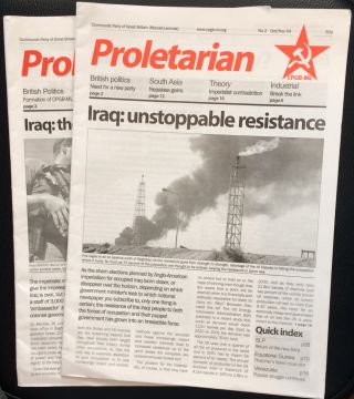 Proletarian [two issues: 1 and 2