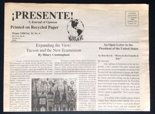 Presente! A journal of opinion. Vol. XI no. 4 (Winter 1990