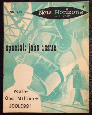 New Horizons for Youth. Vol. 2 no. 7 (June 1962