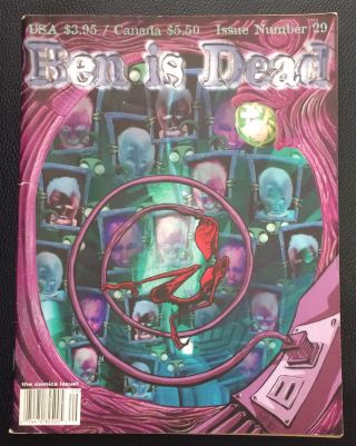 Ben Is Dead. No. 29: the comics issue