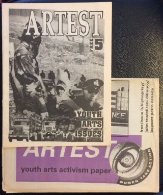 Artest: Youth arts activism paper [two issues: no. 5 and 8