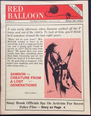 Red Balloon No. 13 (Winter 1977-1978