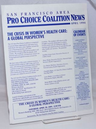 San Francisco Area Pro Choice Coalition News: April 1994