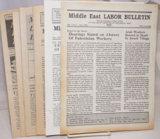 Middle East labor bulletin [8 isues