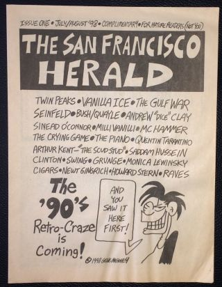 San Francisco Herald. Issue 1 (July/August 1998