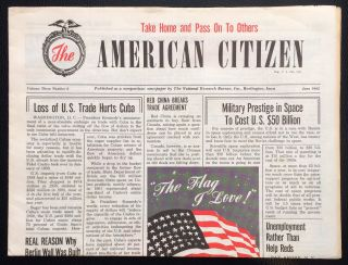 The American Citizen. Vol. 3 no. 6 (June 1962