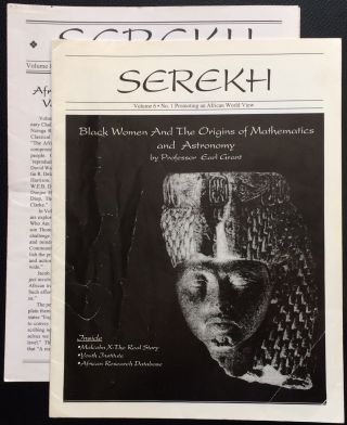 Serekh [two issues