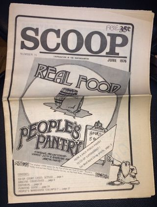 Scoop: cooperation in the Northcountry. No. 15 (June 1976