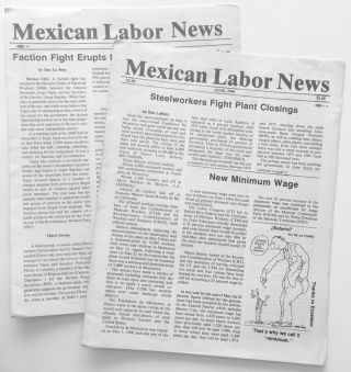 Mexican Labor News [two issues: June and December 1986