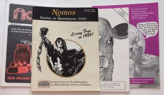 Nomos: Studies in Spontaneous Order [four issues