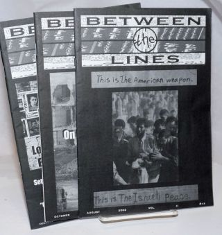 Between the Lines [3 issues]. Tikva Honig-Parnass, Toufic Haddad