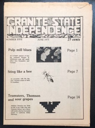 Granite State Independence. No. 5 (June 1975