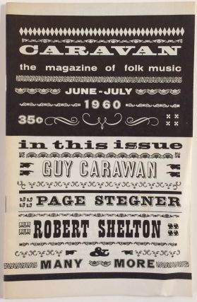 Caravan: the magazine of folk music. No. 20 (June-July 1960