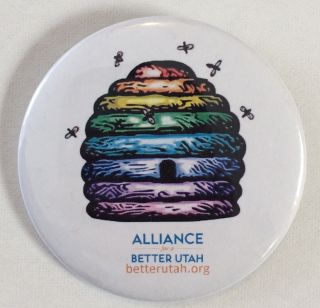 Alliance for a Better Utah [pinback button