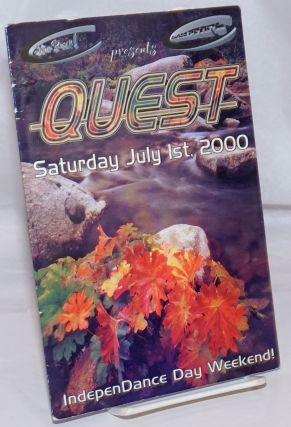 Silver Pearl & Black Pearl Records Once Again presents Quest: Saturday July 1st, 2000 [program]...