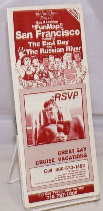 David James Press, Ltd. Gay & Lesbian Fun Map San Francisco including East Bay & The Russian...