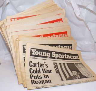 Young Spartacus [46 issues of the newspaper]. Bonnie Brodie, ed