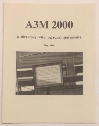 A3M 2000: a directory with personal statements