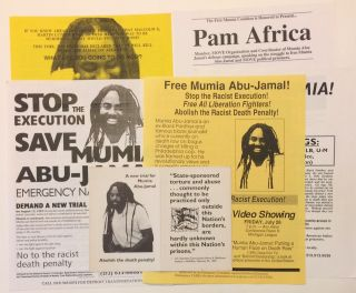 Six items from Michigan-based activists opposing Mumia Abu-Jamal's execution]. Mumia Abu-Jamal