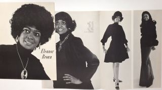 Eleanor Brown [promotional brochure for an African American model]. Eleanor Brown