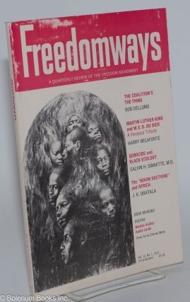 Freedomways: a quarterly review of the freedom movement. vol. 12, no. 1 (First quarter, 1972