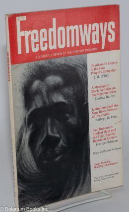 Freedomways, a quarterly review of the freedom movement. Vol. 9, no. 3 (Summer 1969