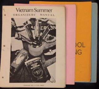 Vietnam Summer organizers' manual [together with three supplemental guides: Fund raising, High...