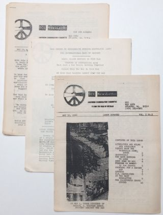 SCC newsletter [three issues; 3, 4 and 5]. Southern Coordinating Committee to End the War in Vietnam