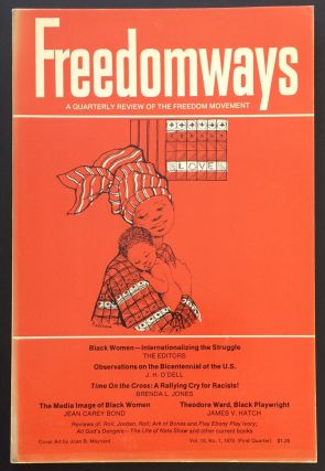 Freedomways, a quarterly review of the freedom movement. Vol. 15 no. 1