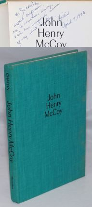 John Henry McCoy [inscribed and signed]. Lillie D. Chaffin, Emanuel Schongut, Jack Cady association