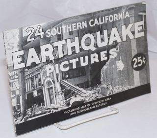 24 Southern California Earthquake Pictures: including map of stricken area and seismograph...