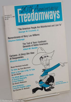 Freedomways, a quarterly review of the freedom movement. Vol. 21 no. 4