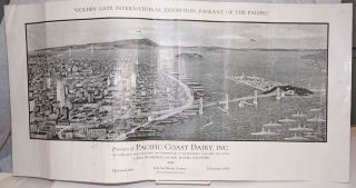 """Golden Gate International Exposition, Pageant of the Pacific"" [title of graphic]; Courtesy of..."