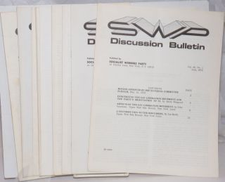 SWP Discussion Bulletin, vol. 30, no. 1 to 9, June, 1972 to September 1972. [complete run for...